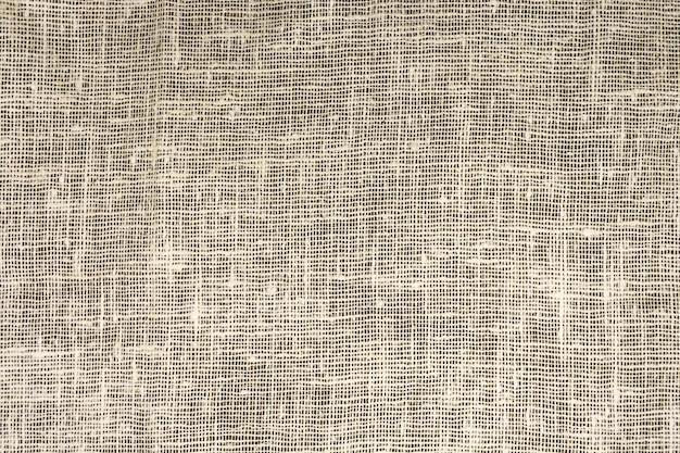 A textura densa da serapilheira velha, um tecido feito de linho Foto Premium