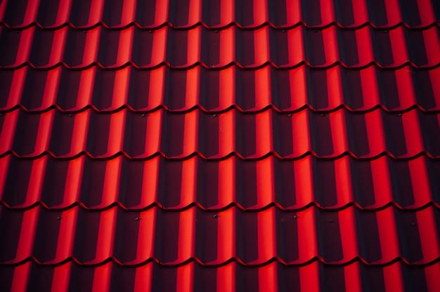 A textura do telhado. Foto Premium
