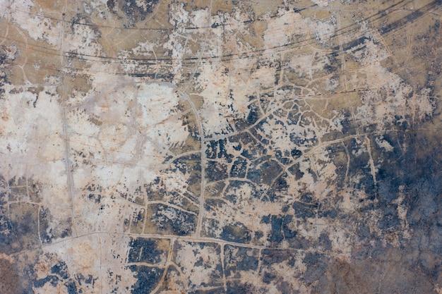 A textura do velho muro de concreto para o fundo Foto Premium