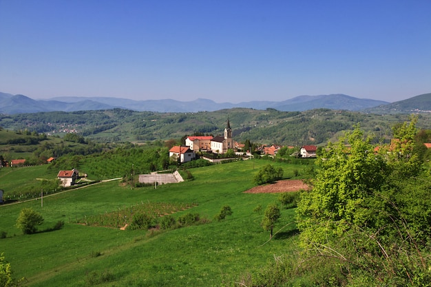 A vila na bósnia e herzegovina Foto Premium