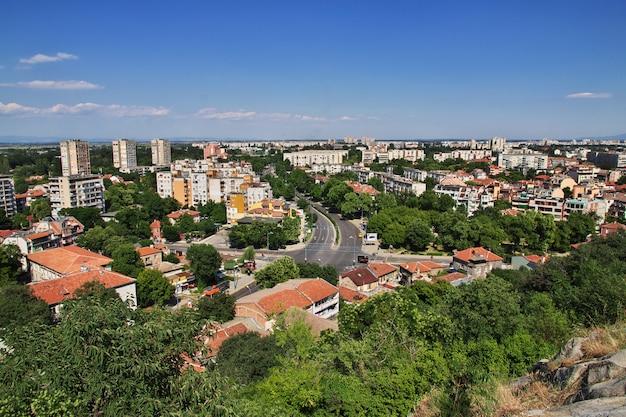 A vista sobre plovdiv, bulgária Foto Premium