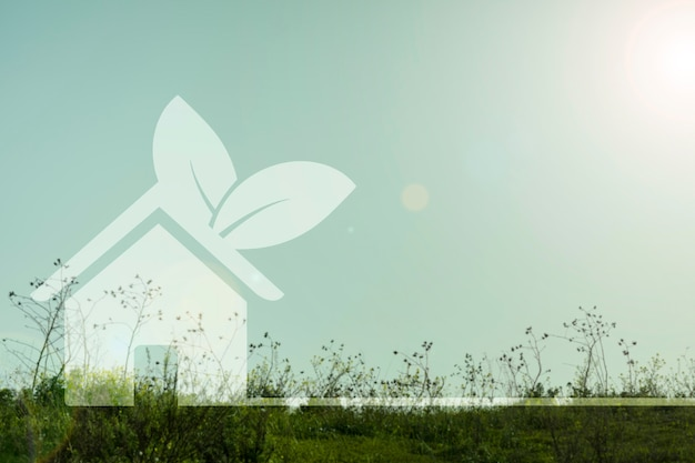 Abriga o conceito de ambiente Foto gratuita