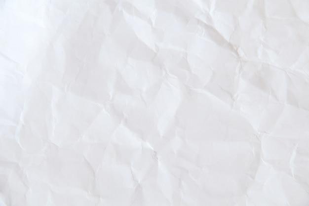 Abstrato base de textura de papel velho, branco papel amassado de fundo Foto Premium
