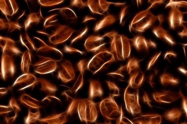 Abstrato café textura feijão Foto gratuita