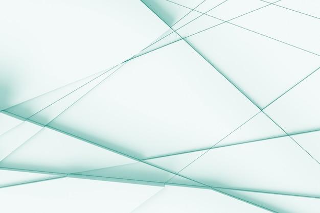 Abstrato de linhas retas, dissecando a superfície em Foto Premium