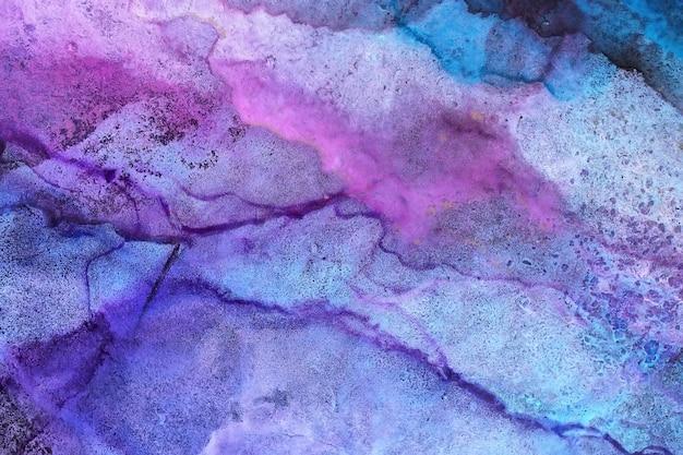 Abstrato de pintura a tinta de álcool Foto Premium