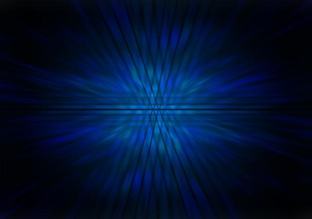 Abstrato de zoom azul claro Foto Premium