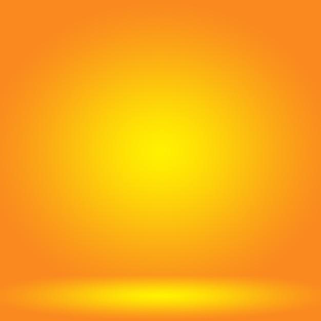 Abstrato design de layout de fundo laranja suave Foto Premium