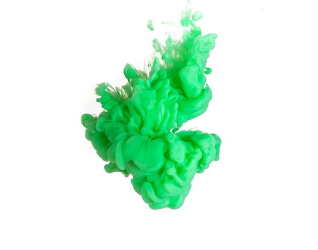 Abstrato formado por cor que se dissolve em água Foto gratuita