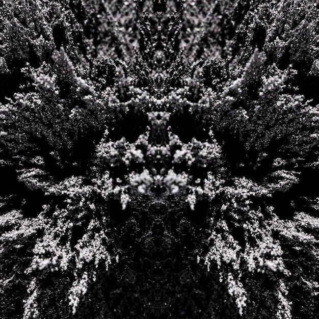 Abstrato padrão simétrico de pano de fundo padrão de barbear magnético Foto gratuita