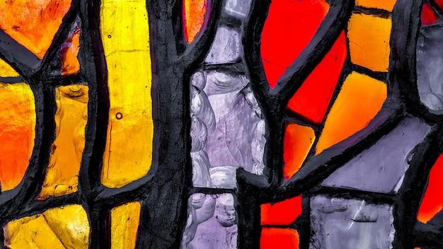 Abstrato. parte do design do exterior do edifício. Foto Premium