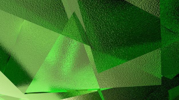 Abstratos, ilustração, de, um, experiência verde Foto Premium