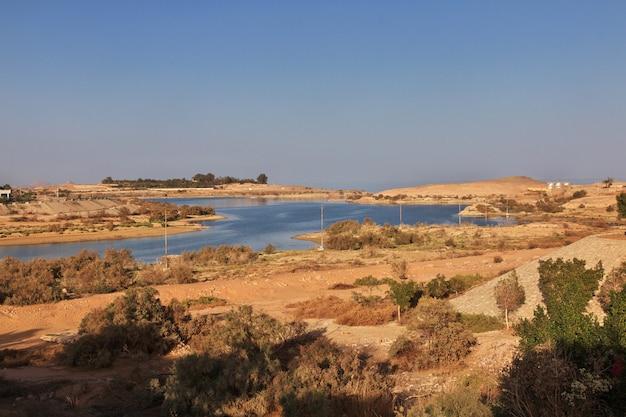 Abu simbel é a cidade do egito Foto Premium