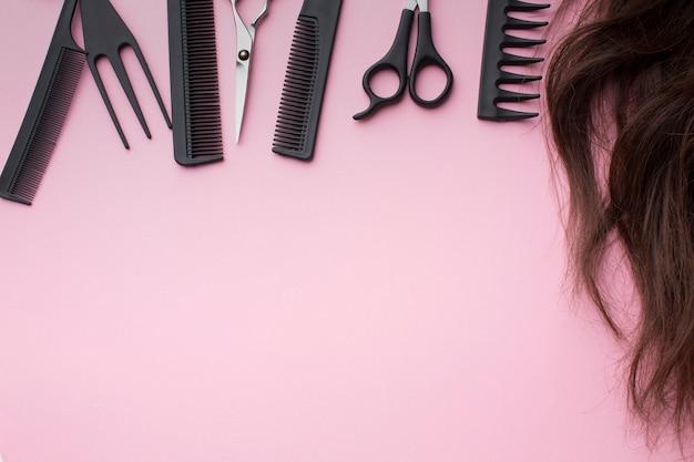 Acessórios para cabeleireiro Foto gratuita