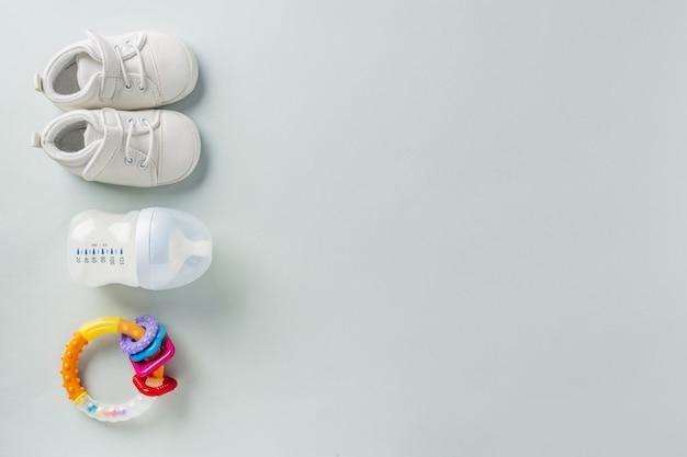 Acessórios para cuidados com o bebê Foto gratuita