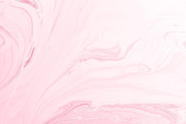 Acrílico rosa pour color superfícies abstratas em mármore líquido design. Foto Premium