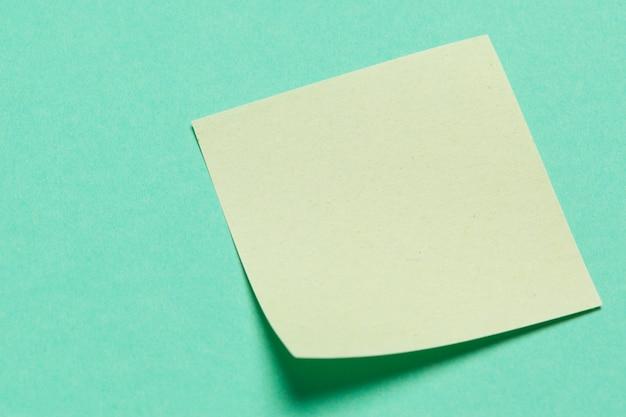 Adesivos de papel em branco para as notas Foto Premium