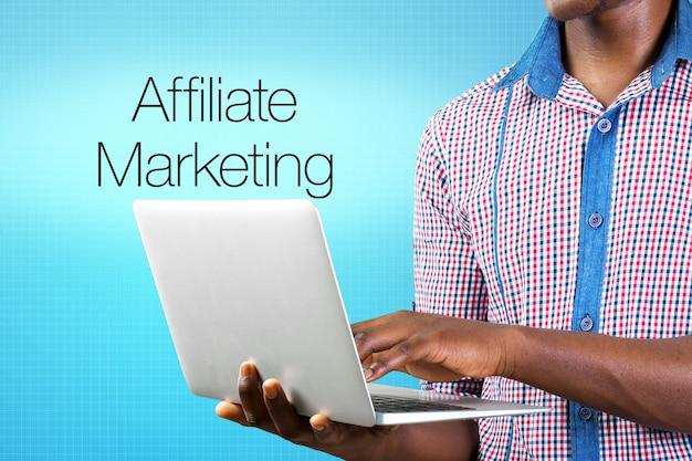 Affiliate marketing business symbols Foto Premium