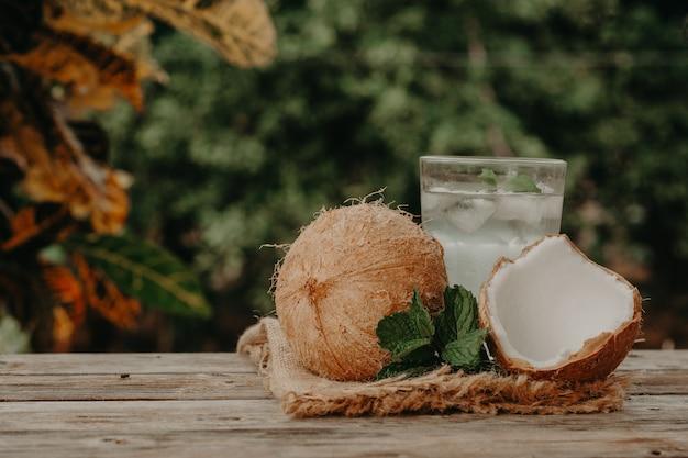 Água de côco Foto Premium