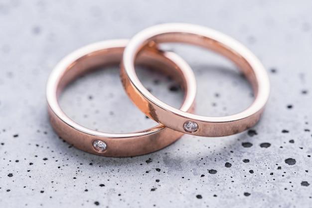 Alianças de casamento Foto gratuita