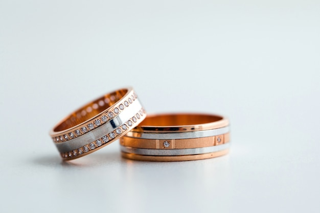 Alianças de casamento Foto Premium