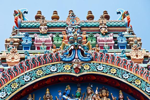 Alívio do templo menakshi Foto Premium