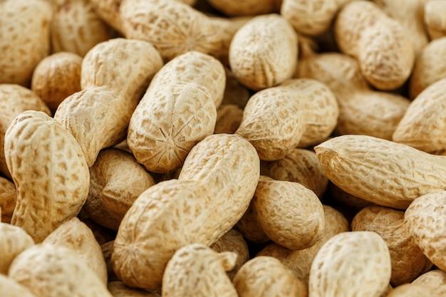 Amendoim inshell uncleaned. Foto Premium