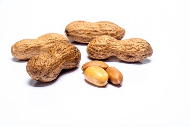 Amendoim isolado Foto Premium