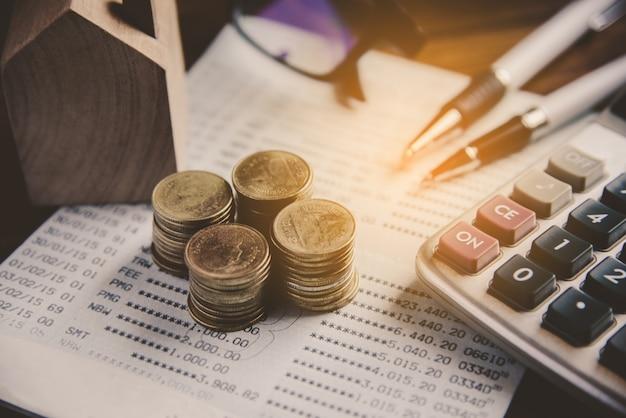 Análise financeira de planejamento financeiro de negócios para crescimento corporativo Foto Premium