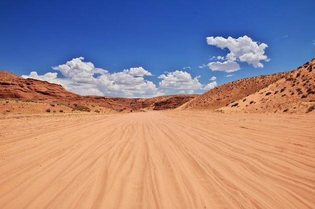 Antelope canyon no arizona, eua Foto Premium
