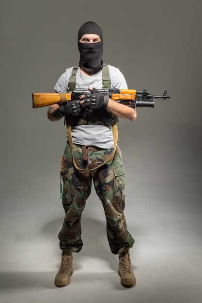 Anti terrorista Foto Premium
