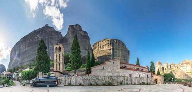 Antiga, bizantino, igreja, em, meteora, grécia Foto Premium