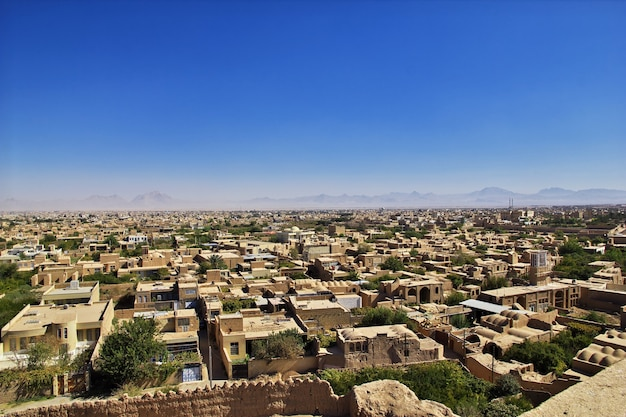 Antiga cidadela de meybod no irã Foto Premium