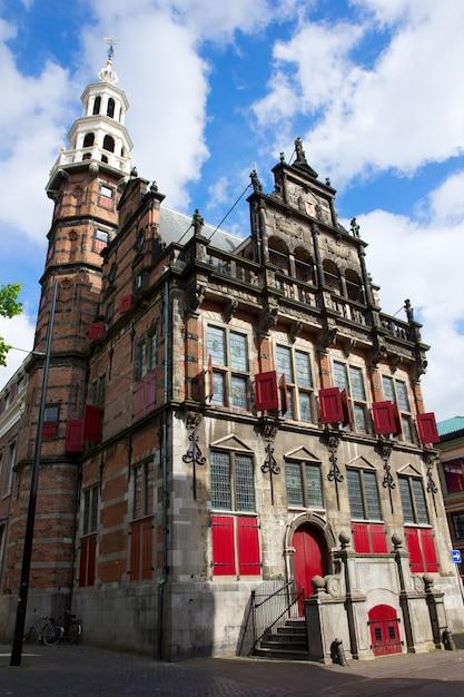 Antiga prefeitura em den haag, holanda Foto Premium