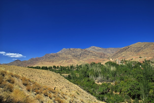 Antiga vila de abyaneh no irã Foto Premium