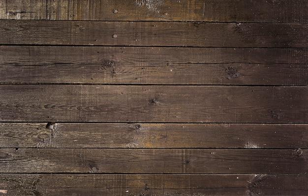 Antigo fundo de madeira marrom vintage Foto Premium