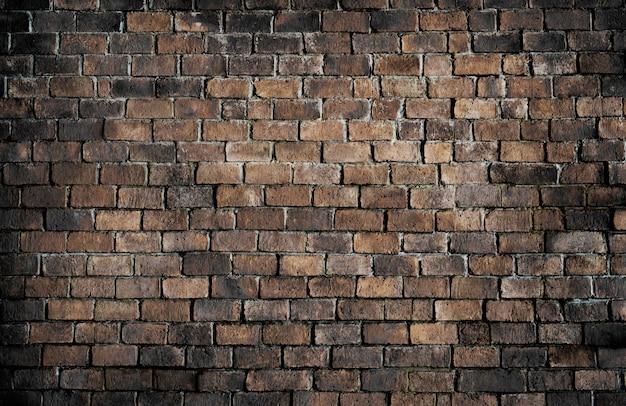 Antigo fundo de parede de tijolo texturizado Foto gratuita