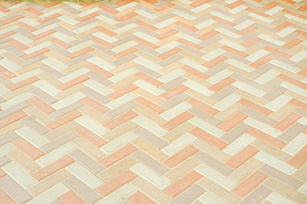 Antigo fundo de textura de pavimento de mosaico Foto Premium