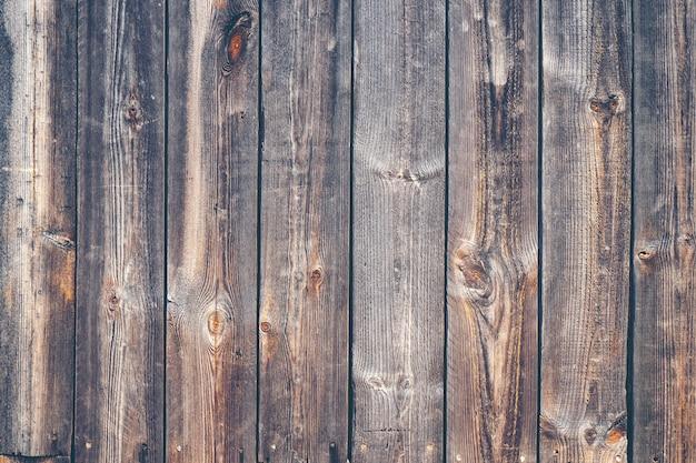Antigo fundo de textura de prancha de madeira, imagem de filtro vintage Foto Premium