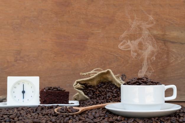 Apaixonado pelo café Foto gratuita