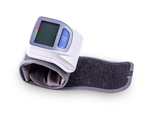 Aparelho elétrico médico para medição de pressão Foto Premium