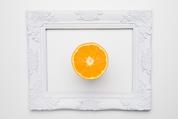 Apartamento leigos de quadro com conceito floral Foto gratuita