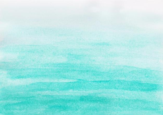 Aquarela abstrata céu azul em fundo branco Foto Premium