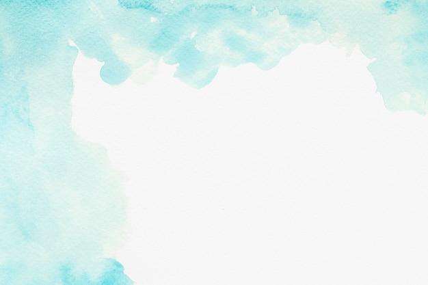 Aquarela cópia espaço tinta azul Foto gratuita