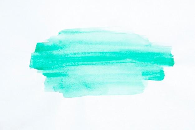 Aquarela de linha pincel azul pintada Foto gratuita