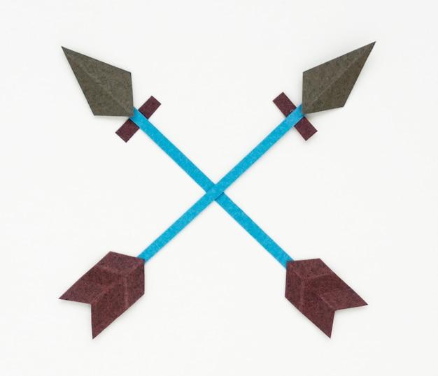Arco arco e flecha ícone símbolo ilustração Foto gratuita