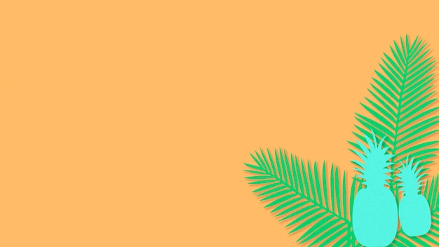 Areca palm abacaxi Foto gratuita