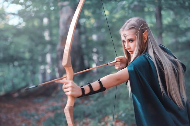 Elfos da floresta desenhos