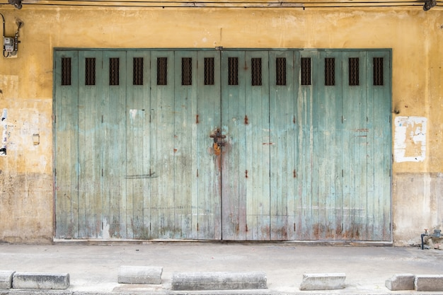 Arquitetura construção fachada vintage design antigo Foto Premium