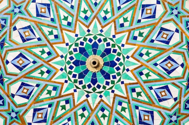 Arquitetura da mesquita hassan Foto Premium